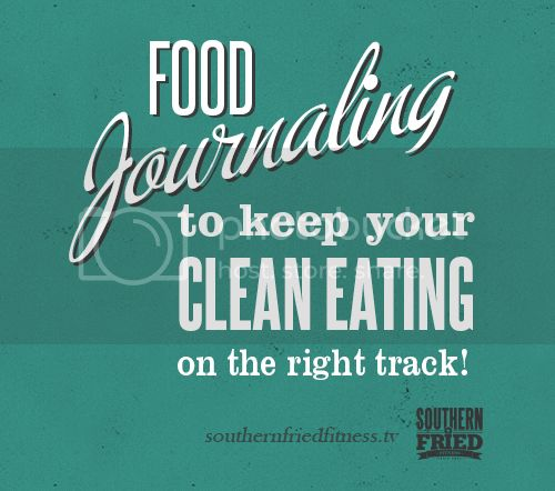 Food Journaling - To help you keep EATING CLEAN!