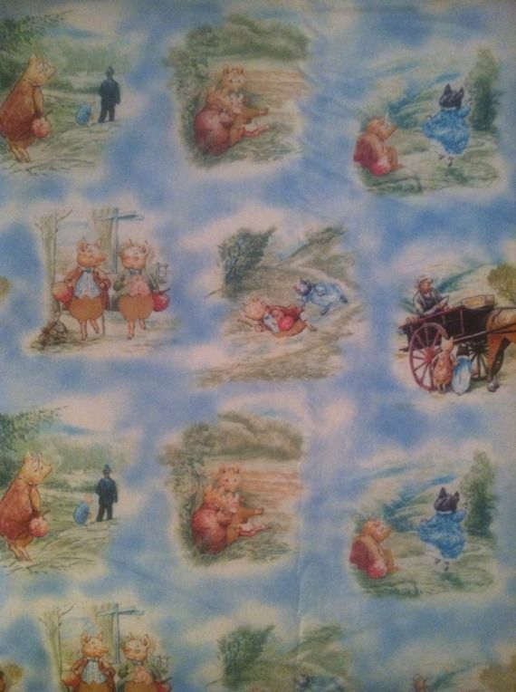 CUSTOM Beatrix Potter--Woven Hybrid