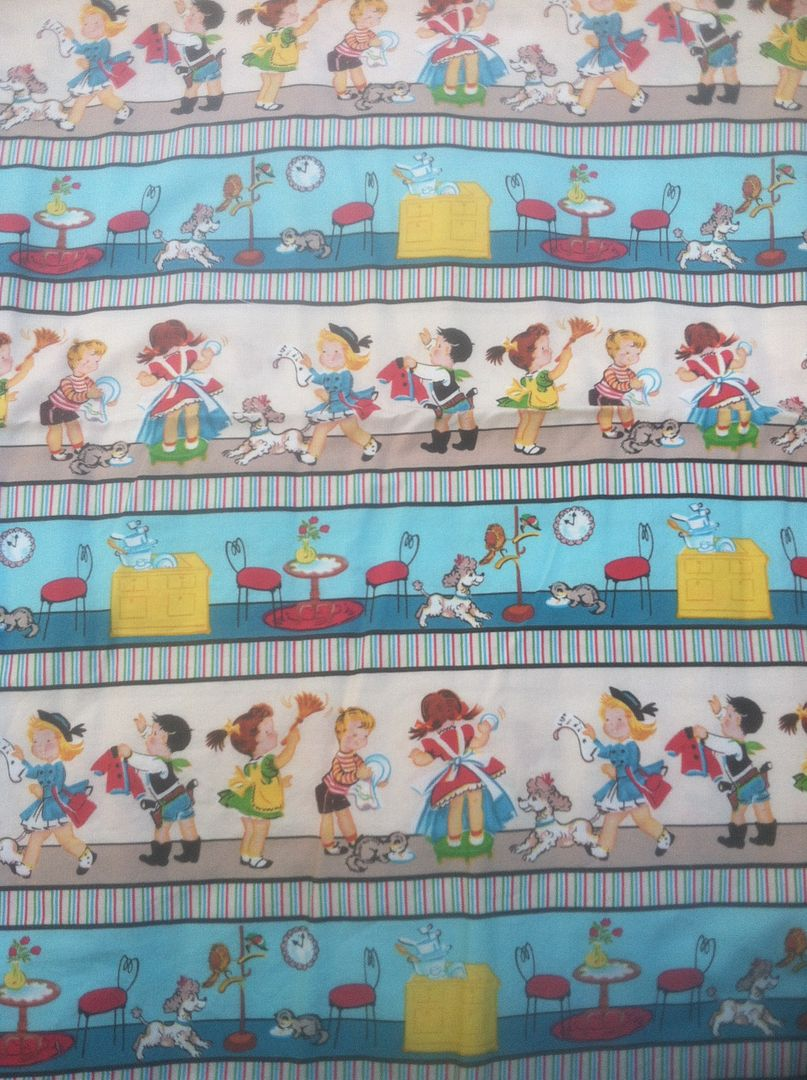 CUSTOM Vintage Kids Scenes-Woven Hybrid
